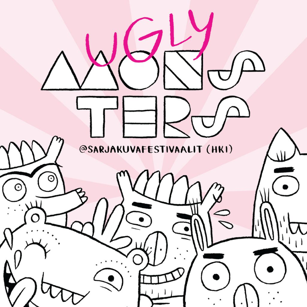 ugly-monsters-sarjakuva