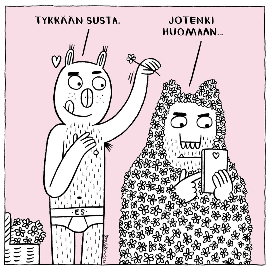 Ugly Monsters comic, Rumat mšršt sarjakuva