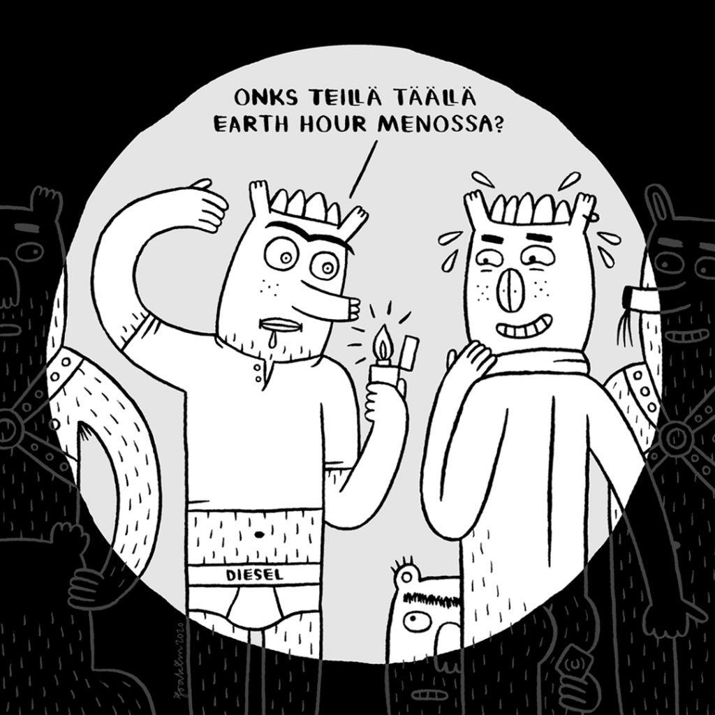 Ugly Monsters comic, Rumat mšršt sarjakuva